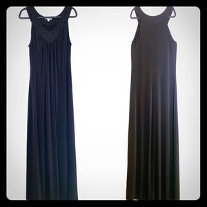 AVENUE Black Maxi Dress Size 18/20